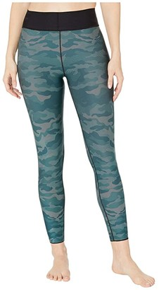 ULTRACOR Ultra High Micro Camo Leggings (Gulf Peacock) Women's Casual Pants