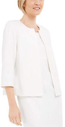 Kasper Petite Textured Knit Jacket
