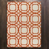 The Well Appointed House Global Views Arabesque Rug in Coral