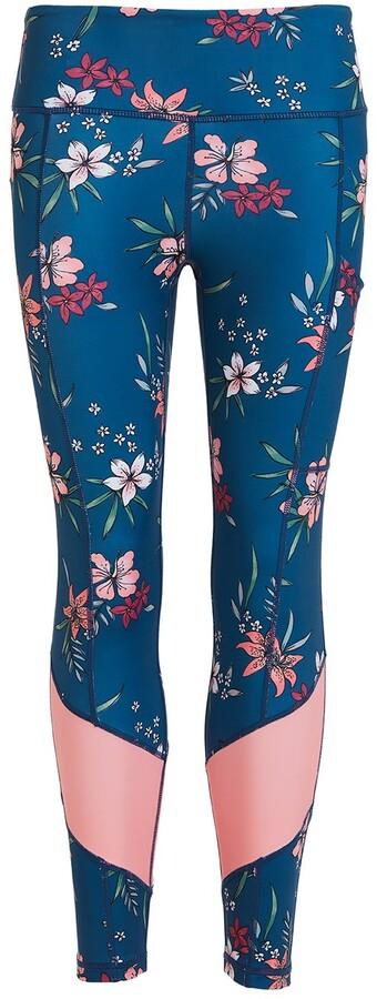 Perky Peach - Floral Leggings