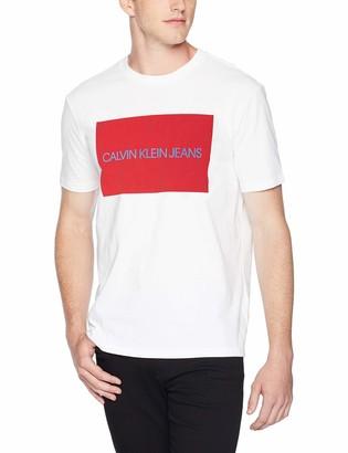 Calvin Klein Men's Institutional Logo T-Shirt