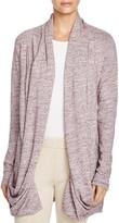 UGG Olive Slub Knit Jersey Shawl Cardigan