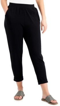 Eileen Fisher Cropped Slouch Pants