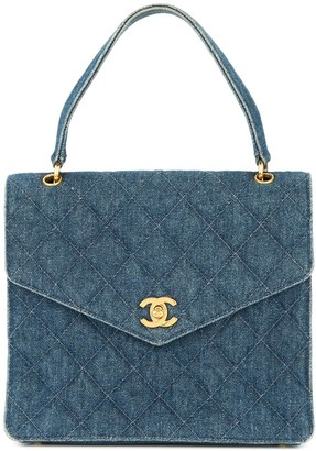 Chanel Pre-Owned 1997-1999 denim CC handbag