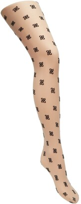 Fendi Karligraphy motif tights