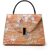 Valextra M'O Exclusive Iside Kimono Mini Top Handle