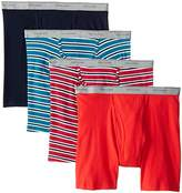 Fruit of the Loom Men's Stripe Solid X-Size Boxer Brief(Pack of 4)