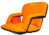 Extra Wide Deluxe Reclining Stadium Seat With Cushion Driftsun Color: Orange