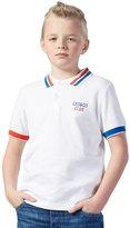 Leo&Lily Little Boys' Casual Fashion Polo Shirt Contrast color Short Sleeve