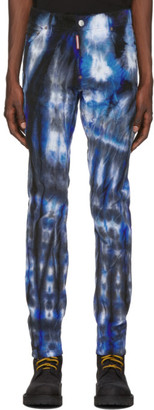 DSQUARED2 Blue and Black Cool Guy Jeans