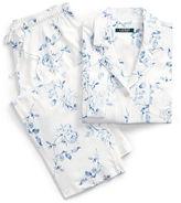 Ralph Lauren Floral Cotton Capri Pajama Set