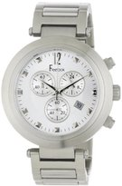 Freelook Unisex HA1136CHM-9A Cortina Matte Stainless Steel Chronograph Watch
