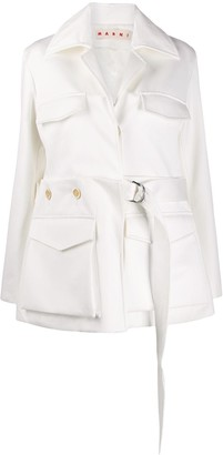 Marni convertible belted jacket