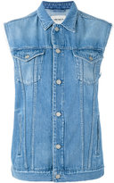 Carhartt denim gilet - women - Cotton - XS