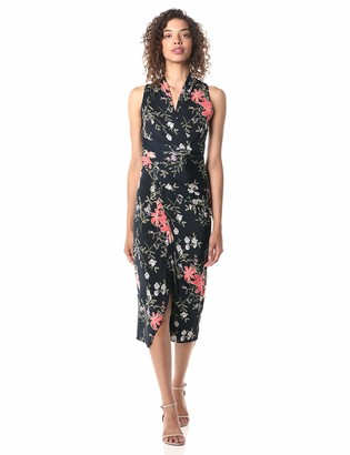 Rachel Roy Women's Sleeveless Printed Bret Dress
