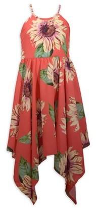 Bonnie Jean Girls Sleeveless Hanky Hem Dress, Sizes 14-20
