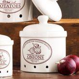 Sur La Table Ceramic Onion Crock