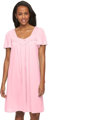 Petite Miss Elaine Essentials Tricot Nightgown