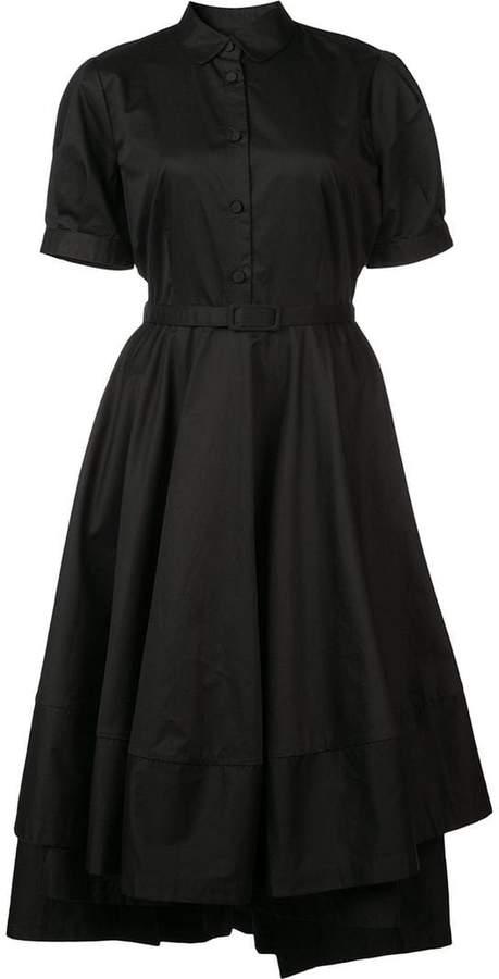 Co midi flared dress