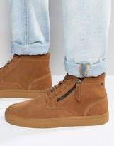 Diesel Klawyn Suede Hi Top Sneakers