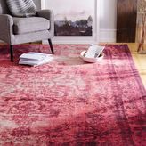 west elm Distressed Arabesque Wool Rug - Shockwave