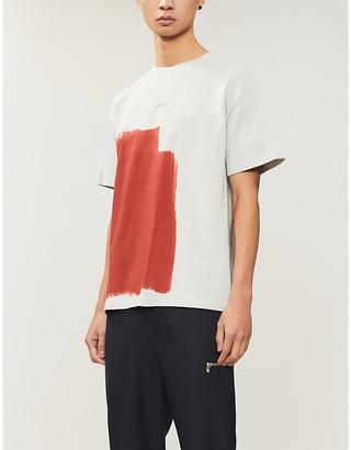 A-Cold-Wall* Block-paint cotton-jersey T-shirt
