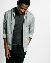 Express lightweight fleece zip-up hoodie