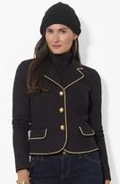 Lauren Ralph Lauren Gold Trim Denim Jacket