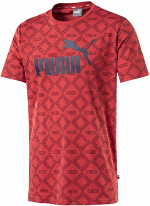 Puma Men's Logo All Over Print Pack TEE
