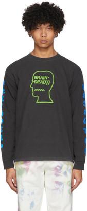 Brain Dead Black Vehicle Long Sleeve T-Shirt