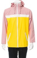Opening Ceremony Colorblock Rain Jacket w/ Tags