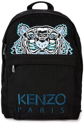 Kenzo Kampus Logo-embroidered Nylon Backpack