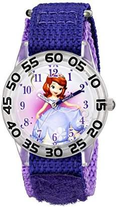 Disney Kids' W001687 Sofia the First Plastic Case watch