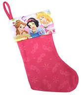 Disney Princess Pink 18 Inch Decorative Childrens Christmas Stocking