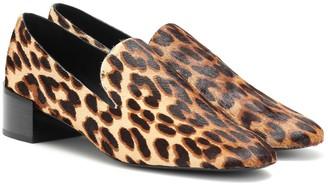 Mercedes Castillo Tillie calf-hair loafer pumps