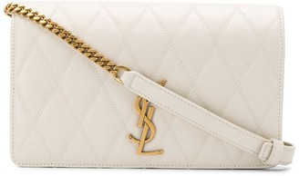 Saint Laurent Monogram Quilted Crossbody Bag