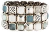 David Yurman Multigem & Diamond Chiclet Bracelet