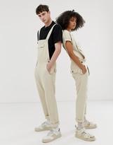 Seeker unisex pocket overalls in organic hemp