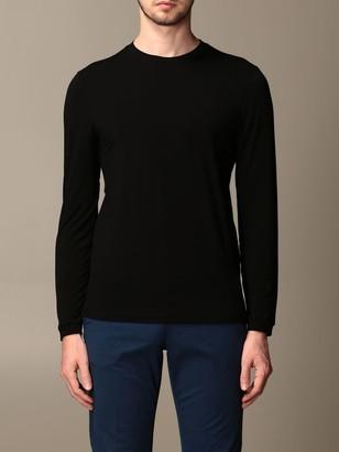 Giorgio Armani Sweater In Stretch Viscose Jersey