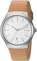 Skagen Men's SKW6261 Sundby Light Brown Leather Watch