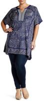 Nic+Zoe Knit Jacquard Tunic (Plus Size)