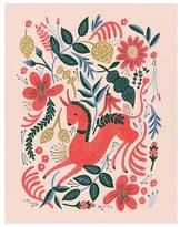 Rifle Paper Co. 'Ruby Folk' Art Print