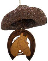 St. Nicholas Square® Glitter Cowboy Hat Christmas Ornament
