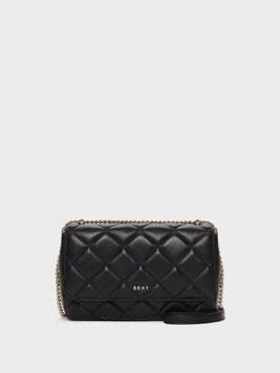 DKNY Lara Large Quilted Shoulder Bag
