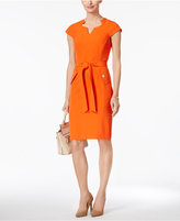 Kasper Pocketed Sheath Dress
