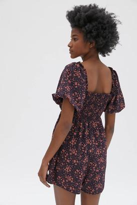 Dress Forum Ruffle Short Sleeve Romper