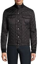 Michael Kors Quilted High Neck Jacket