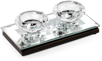 Allure By Jay Flat Mirror Tealight Candle Holder