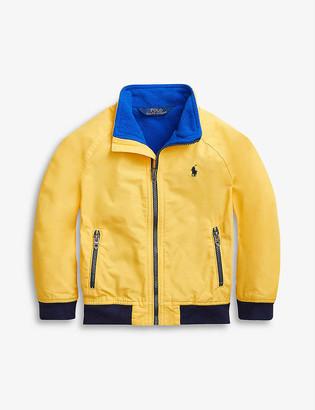 Ralph Lauren Logo-embroidered shell and fleece jacket 2-14 years