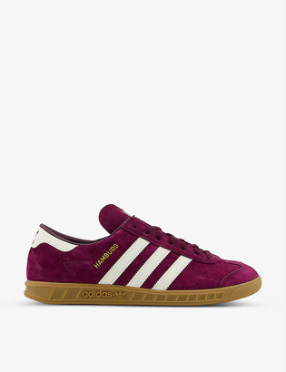 adidas Hamburg suede low-top trainers